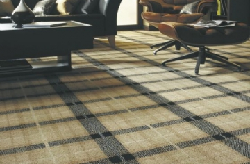 Axminster Natural Plaid